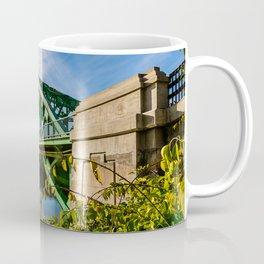 Tyngsborough Bridge over the Merrimack River, Massachusetts Coffee Mug