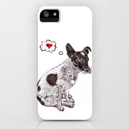 JRT Love iPhone Case