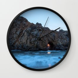 Arch Rock Wall Clock