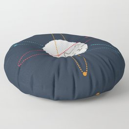 Cat-ion Floor Pillow