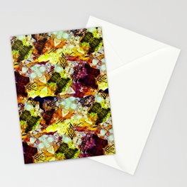 Graffiti Style Markings Stationery Cards