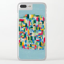 Find me here Clear iPhone Case