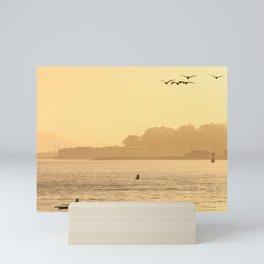 Morning on The Bay Mini Art Print