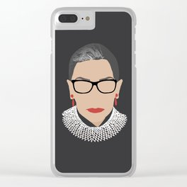 Court frame Clear iPhone Case