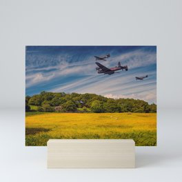 Battle of Britain Memorial Flight Mini Art Print