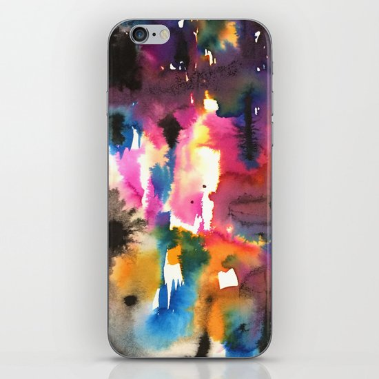 mystery pattern iPhone & iPod Skin