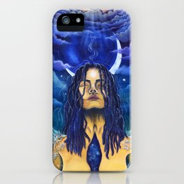 Acceptance: Golden Goddess iPhone Case