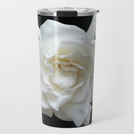 Gardenia on Black DPG150524 Travel Mug