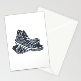 A Journey Of A 1000 Miles Begins With A Single Step Stationery Cards