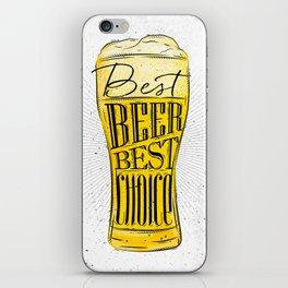 Best beer iPhone Skin