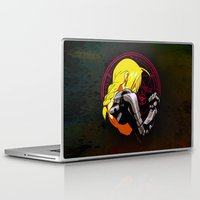 fullmetal alchemist Laptop & iPad Skins featuring YELLOW HAIR ALCHEMIST by BradixArt