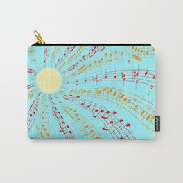 Music Brightens the World Carry-All Pouch