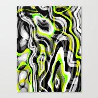 neon Canvas Prints featuring Neon by Marta Olga Klara