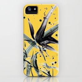 Lupinus #3 (yellow) iPhone Case