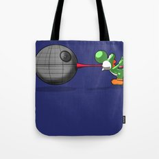 Yoshi eats the DS Tote Bag