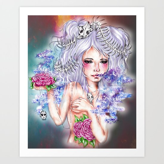 Lovely Bones Art Print