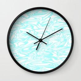 Warped, Aqua Wall Clock