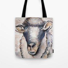 Shabby Sheep Tote Bag