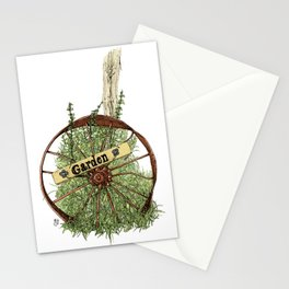 Wheel of Garden Stationery Cards