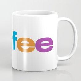 Coffee Rainbow Coffee Mug