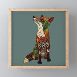 fox love Framed Mini Art Print