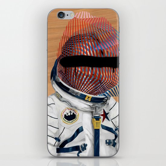 Spaceman No:2 iPhone & iPod Skin