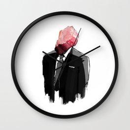 Char Siu Head (roast pork in suit) Wall Clock