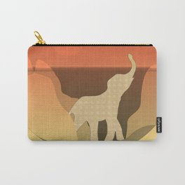 Underwater Elephant Scene Design Carry-All Pouch