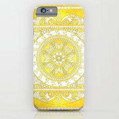 Golden Henna Mandala iPhone 6s Slim Case
