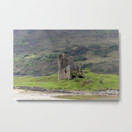Ardvreck castle Metal Print