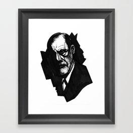 Sigmund Freud Framed Art Print