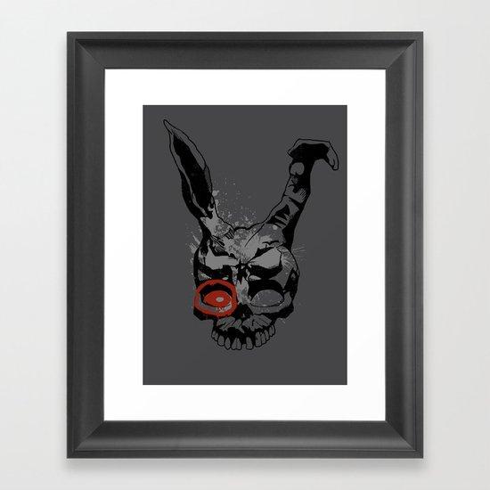 Target Mascot Framed Art Print