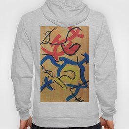 Abstract Signs Hoody