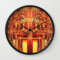 persona Wall Clocks featuring PERSONA by Helyx Helyx