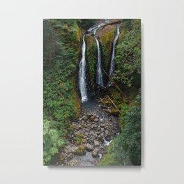 Triple Falls Metal Print