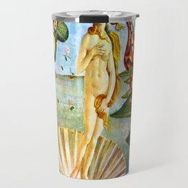 Botticelli The Birth of Venus Travel Mug
