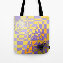 Abstract Art Pattern Tote Bag