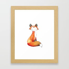 Red Fox Framed Art Print