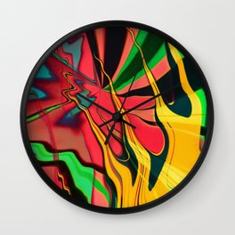 Shake off the Demon Wall Clock