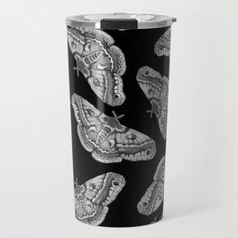 White Butterflies Travel Mug