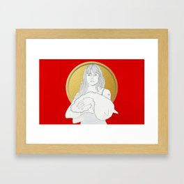 A THOUSAND LEAVES (Sunday) Framed Art Print