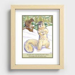 Got Nuts? Recessed Framed Print
