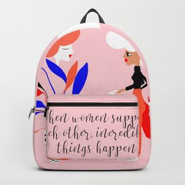 Women's plant - Supporting each other Backpack