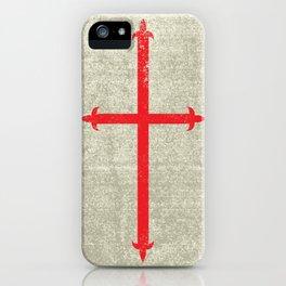 Templar Cross iPhone Case