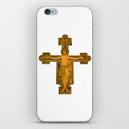 Medieval Style Jesus Christ on Cross iPhone Skin