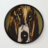 harley Wall Clocks featuring Harley by Chuck LaVoie