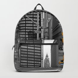 NYC - Yellow Cabs - Trinity Place Backpack