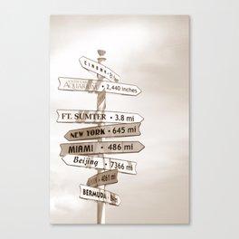 Good Directions Canvas Print