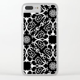 Ornaments01 Clear iPhone Case