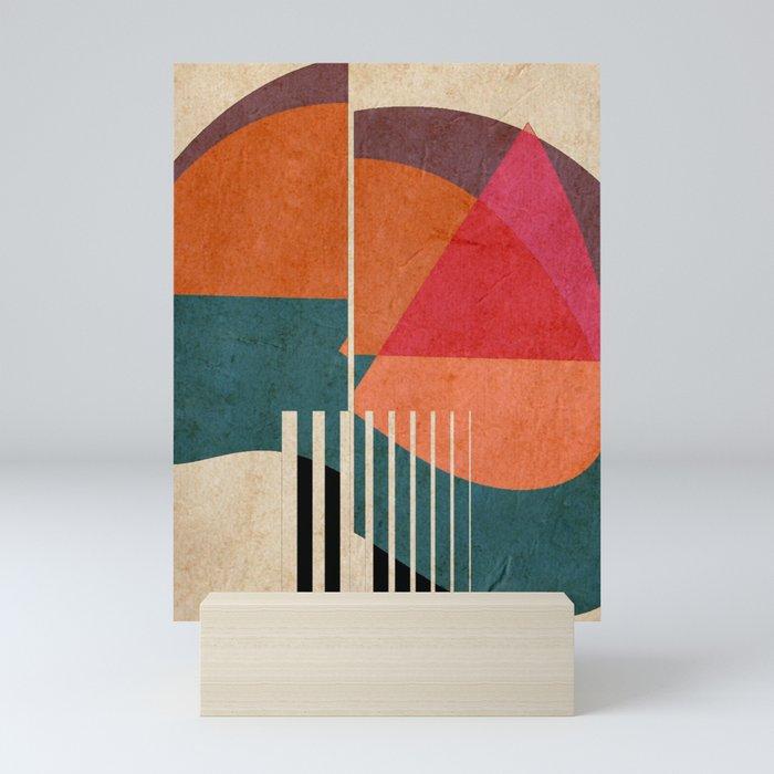 in the autumn Mini Art Print